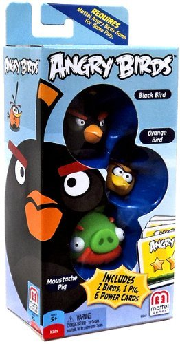 Angry Birds Black Bird, Moust