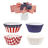 Wilton 415-4130 Patriotic Cupcake Decorating Kit
