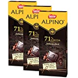 Nestle ALPINO 71% Cocoa - Intensely Dark Chocolate 90gm - (Pack of 3)