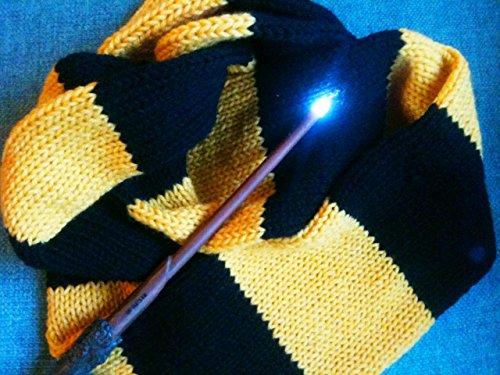 Handmade Knit Hufflepuff Scarf Hogwarts