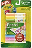 Crayola 10 Count Color Wonder Mini Markers Pastel