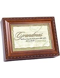 Grandmas Forever Woodgrain Music Box Plays Wonderful World