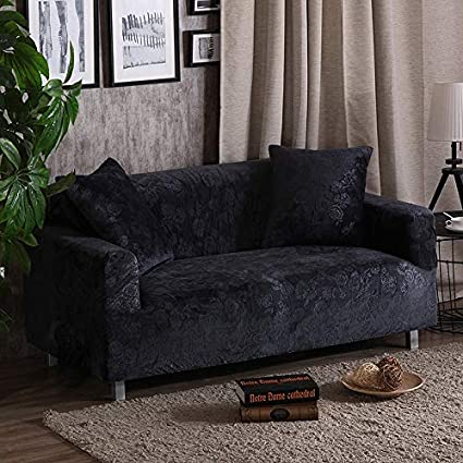 SaveStore Velvet Fabric Thick Sofa Cover Stretch Seats Covers Couch Cover  Love Seat Sofa Funiture Warp