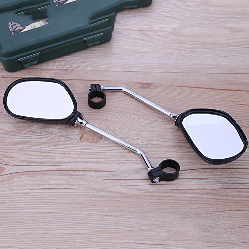 Alloet 1Pair Bicycle Handlebar Mirror Bicycle Mountain Road Bike Rearview by Alloet (Image #2)