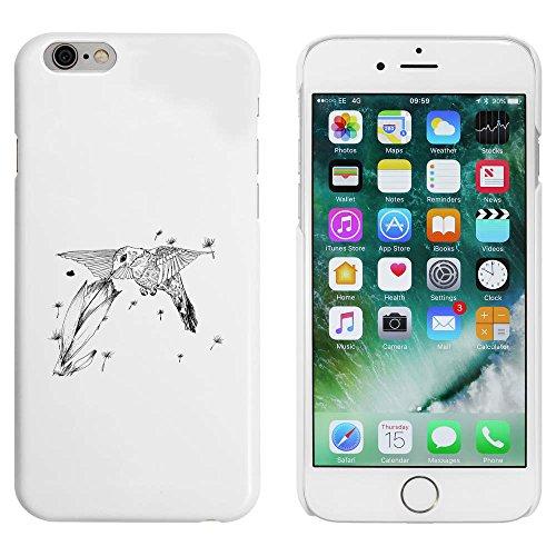 Blanc 'Colibri et Fleur' étui / housse pour iPhone 6 & 6s (MC00048198)
