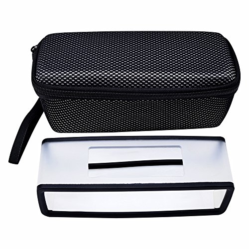 Hard Carry Case/ Travel Bag with Soft Cover for Bose Soundlink Mini I and Mini II Bluetooth Speaker