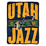 The Northwest Company NBA Utah Jazz Micro Raschel Throw, One Size, Multicolor