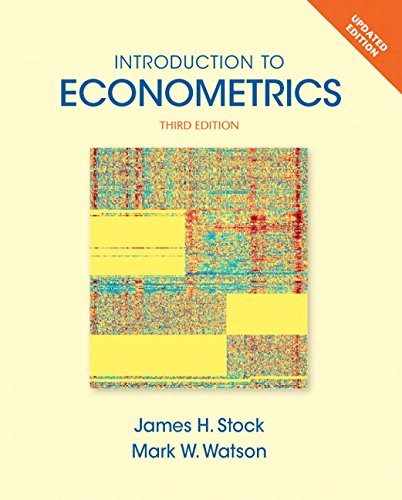 133486877 - Introduction to Econometrics, Update (3rd Edition) (Pearson Series in Economics)