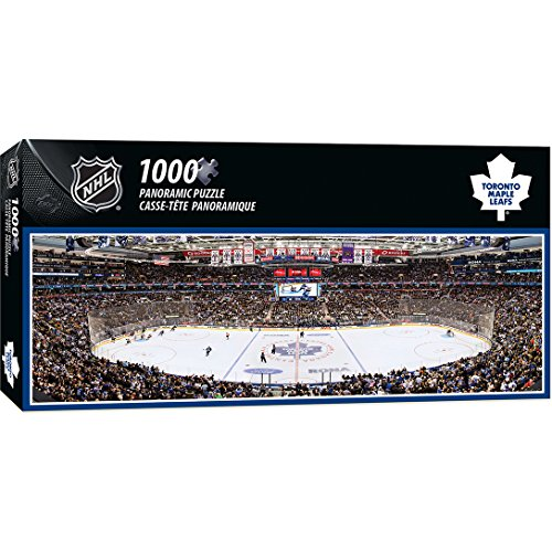 MasterPieces NHL Toronto Maple Leafs Arena Jigsaw Puzzle, 1000-Piece by MasterPieces