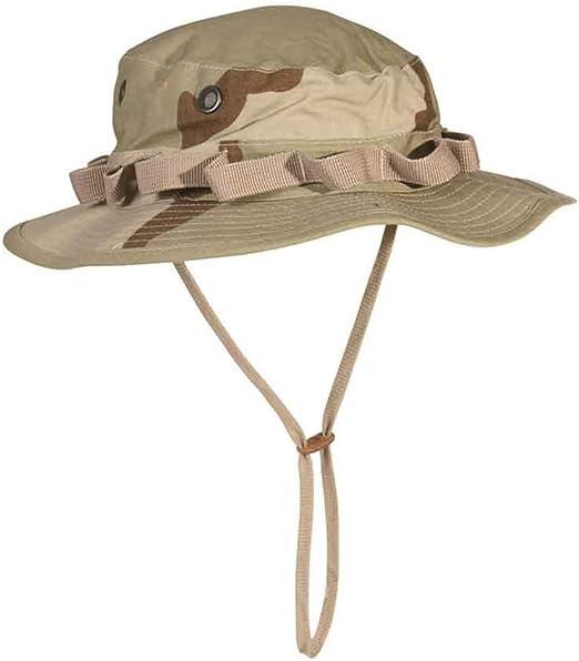 XL US Chapeau de brousse 6 col GI Boonie A desert camouflage S