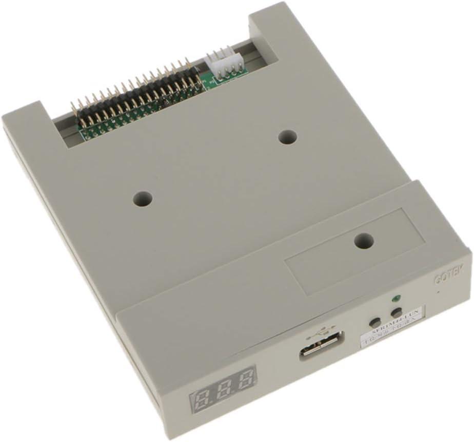 KESOTO Unidad de Disquete USB con Tornillos Plug, Juegue SFR-1m Bricolaje Accesorio Eléctricos