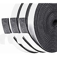 Fowong Weerstrip afdichting, 20 mm (B) x 3 mm (T) Hoge dichtheid Foam Tape Home Window Deur Diepgang Excluder…