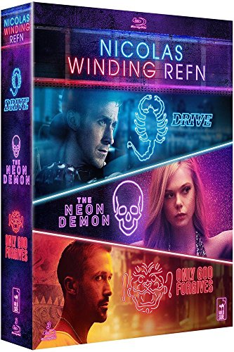 Nicolas Winding Refn : Drive + The Neon Demon + Only God Forgives [Blu-ray]