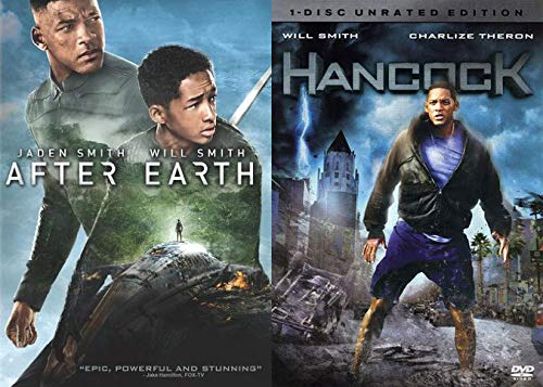 Watch Will Smith Try Science Fiction: After Earth & Hancock (Unrated) 2 DVD Bundle