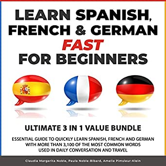 Fast In German >> Amazon Com Learn Spanish French German Fast For