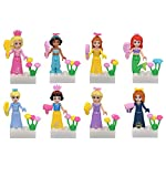 (US) Girl Toys Beautiful Princess Building Blocks Minifigure Sets Compatible with Lego