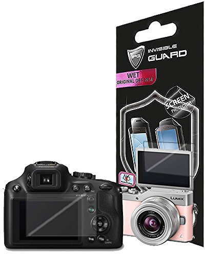 for PANASONIC LUMIX DC-ZS70 - GX850 - GX800 (2 Units) Screen Protector Skin Lifetime Replacement Warranty Invisible Protective HD Clear Guard - Smooth/Bubble -Free by IPG