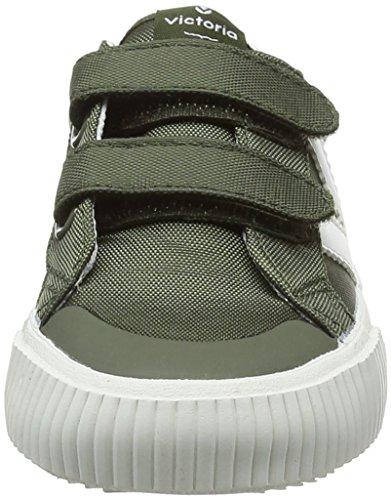 Zapatillas kaki Velcros Deportivo Nylon Verde Victoria Niños Unisex wvHftBq