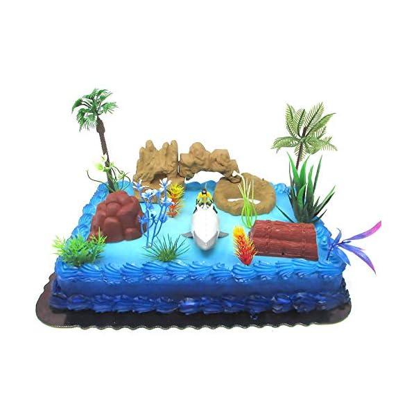 Super Hero Justice League AQUAMAN Birthday Cake Topper Set ...