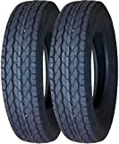 2 Premium FREE COUNTRY Trailer Tires ST 175/80D13 8PR Load Range D - 11071 …