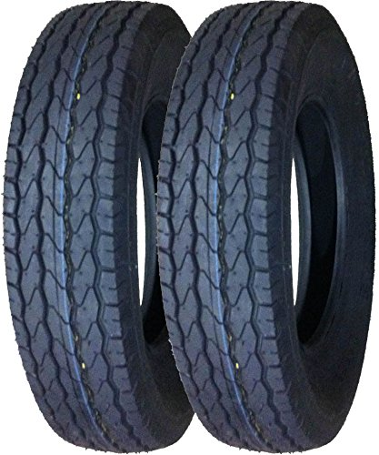 2 Premium FREE COUNTRY Trailer Tires ST 175/80D13 8PR Load Range D - 11071 … by Free Country