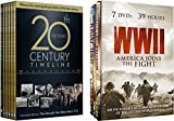 The 20th Century Collection - WWII: America Joins the Fight & 20th Century Timeline 13-DVD Bundle