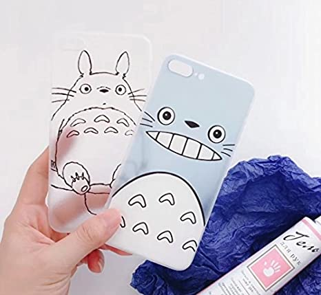 Amazon.com: WinVI My Neighbor Totoro Funda para iPhone 7/8 ...