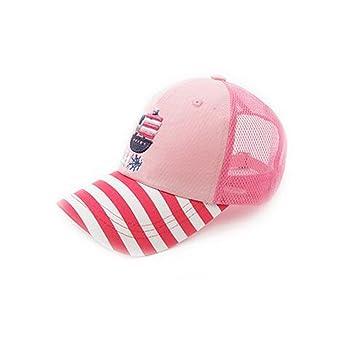 WYM Sombreros Para Niños Gorras De Malla Sombreros Para Niños Sombreros De Sol Para Niñas De Primavera Y Verano Gorras De Bebé Gorra De Bebé Para Niños: ...