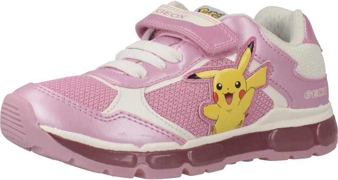 documental Lanzamiento Gruñón  Amazon.com | Geox Kids Girl's Android Girl 22 (Little Kid/Big Kid)  Pink/White 35 (US 3.5 Big Kid) | Sneakers
