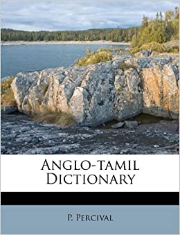 Book Anglo-tamil Dictionary