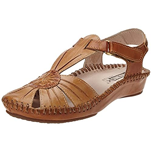 edfb5daeb Pikolinos Womens Puerto Vallarta 655-8899C1 Leather Sandals low-cost ...
