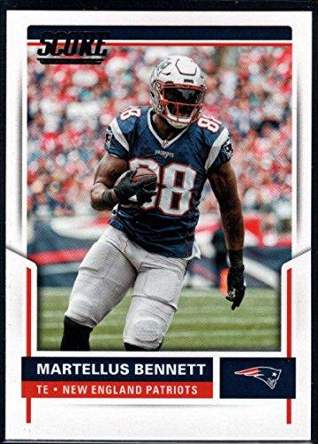 2017 Score  192 Martellus Bennett New England Patriots Football Card