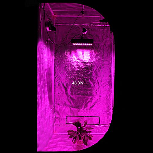 51twvG9FL5L - 1000W LED Grow Light, Dimgogo Triple Chips Full Spectrum Grow Lamp with UV&IR for Greenhouse Hydroponic Indoor Plants Veg and Flower All Phases of Plant Growth (10W Leds)