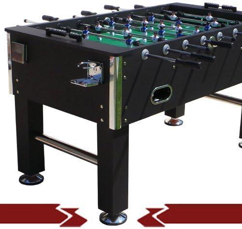 EveMotion GmbH - Futbolín profesional, mesa maciza: Amazon.es ...