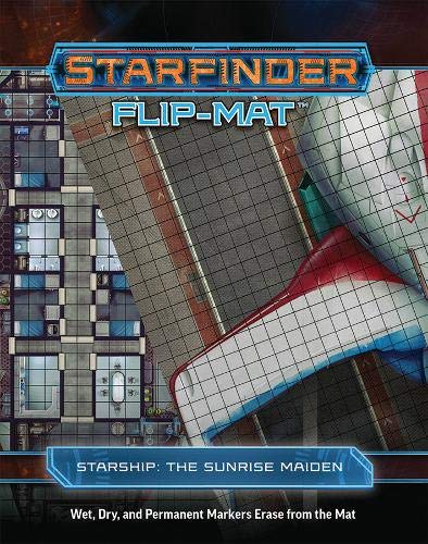 Starfinder Flip-Mat Starship: The Sunrise Maiden