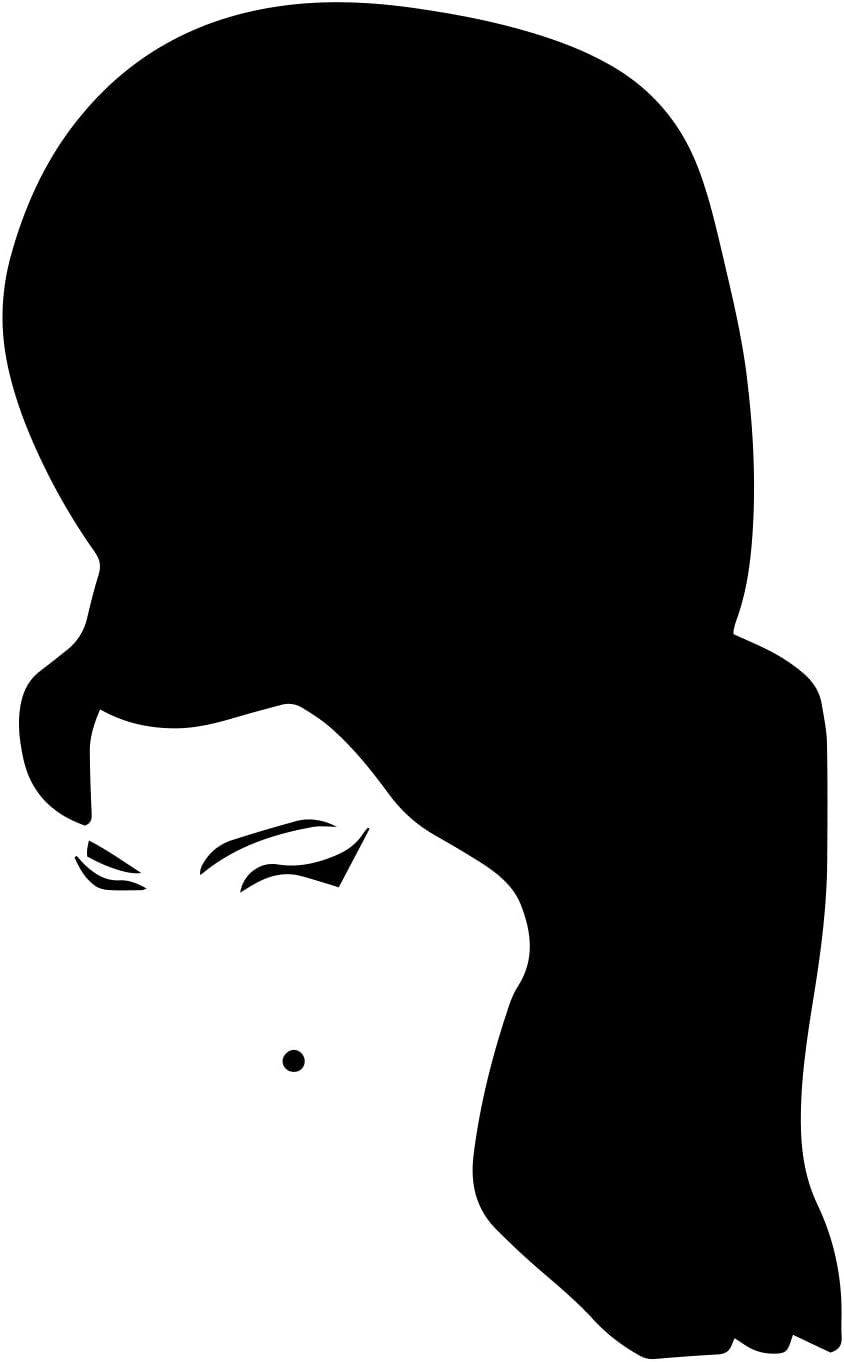 "Bargain Max Decals Winehouse Decal Notebook Car Laptop 5.5"" (Black)"