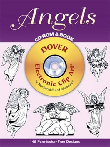 Angels CD-ROM And Book (Dover Electronic Clip Art)