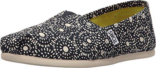 TOMS Women's Seasonal Classics Navy Shibori Dots Loafer Classics