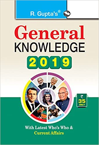 Buy General Knowledge 2019: Latest Who's Who & Current Affairs Book