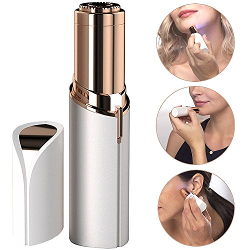 Facial Hair Removal Portable Light Electric Hair Removal Women's Painless Hair Remover for Lip, Chin, Cheek