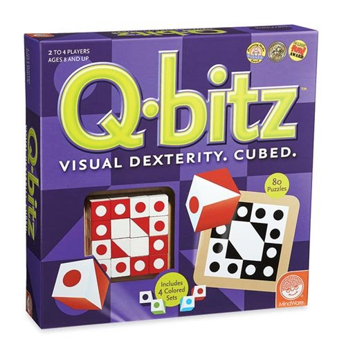 Q-bitz Visual Dexterity Game]()