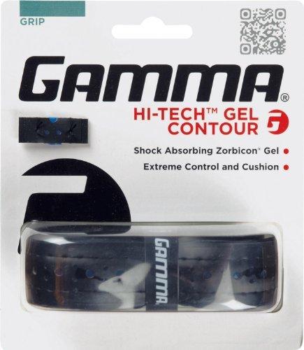 Gamma Hi-Tech Gel Contour Replacement Grip, Black by Gamma