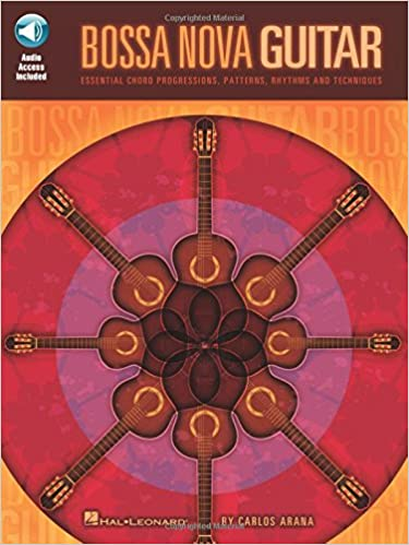 Amazon Bossa Nova Guitar Bookaudio Online 9781423425199