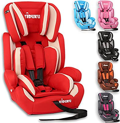 Surprising Kiduku Safety Car Seat Booster Seat 3 In 1 Childs Babys From 9 36 Kg 20 Lbs 80 Lbs 1 12 Years Convertible Universal Approved To Ece Gmtry Best Dining Table And Chair Ideas Images Gmtryco