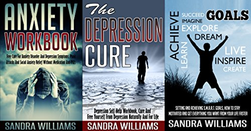 Depression And Anxiety Self Help Bundle: Anxiety Workbook + The