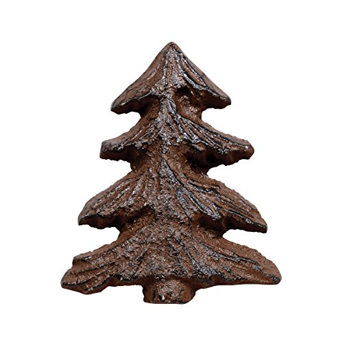 Cast Iron Rust Pine Tree Knob