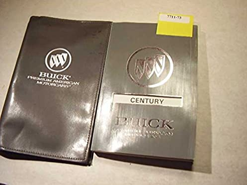 1992 buick century owners manual buick amazon com books rh amazon com buick regal owner's manual buick lesabre owners manual 2000
