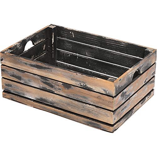 At Home On Main Handmade Rustic Crates (Large) ()