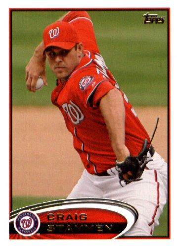 2012 Topps Update Series Baseball Card # US312 Craig Stammen Washington Nationals ()