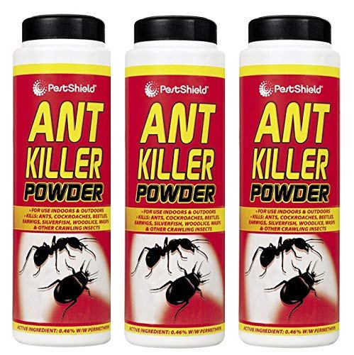 3 x PestShield Ant Killer Powder Crawling Insect Killer Indoor & Outdoor- 240g 151